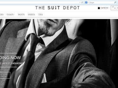 http://thesuitdepot.com/ M2E- Pro based website.