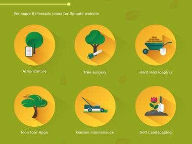 Setanta Logo & Icons