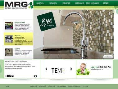 Corporate Web Page