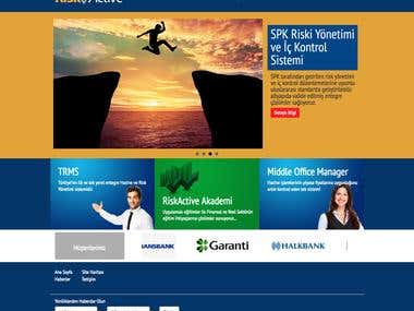 Risk Management Web Page