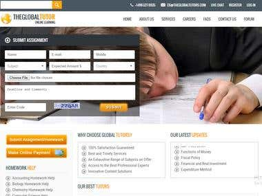 Online Tutors Learning Center or Site