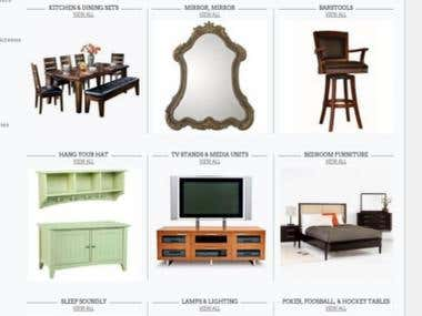 Magento Furniture  Shop