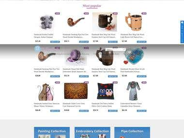 MyFancyCraft is e-commerce site on Drupal.