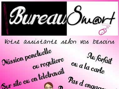 bureau smart flyer graphique