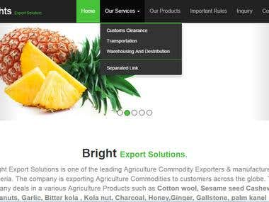 Nigeria Export site