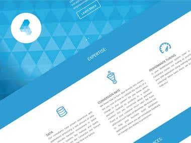 TantusData \ Brand Identity \ Website