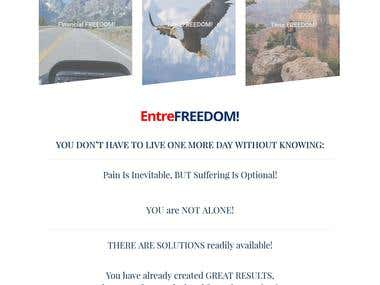 Entrefreedom - Website