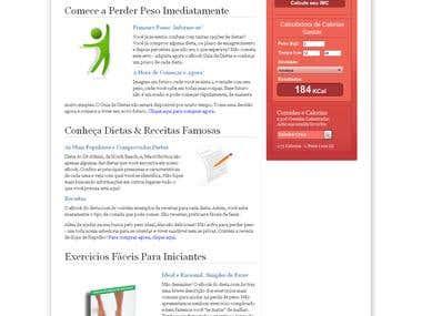 Diet Website