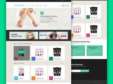 Web Branding for eCommerce website