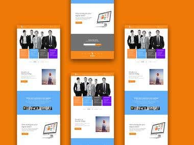 Web Branding for Digital Marketing Agency
