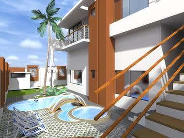 400 m2 Villa
