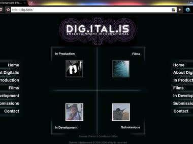 Digitalis - Web Project