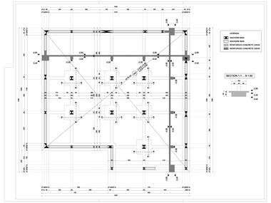 Structural design_Formwork plan