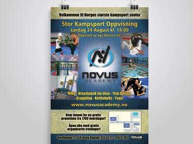 Flyer for Novus Academy - Print Ready - 300dpi