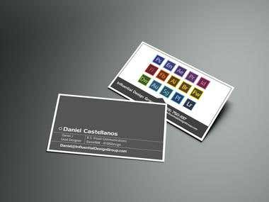 Business Card for Influential Design Group
