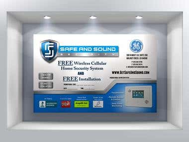 Flyer for Safe And Sound Security - Print Ready - 300dpi