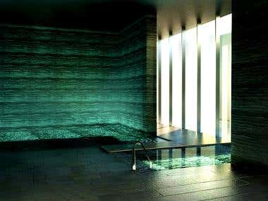 interior swimming pool