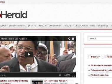 thewebherald.com
