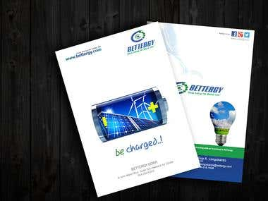 bettergy brochure design