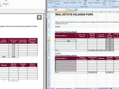 Convert Excel into fillable PDF form with Calculation on PDF