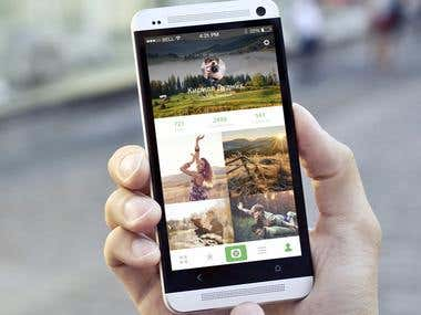 Mobile Application «Photo Day»