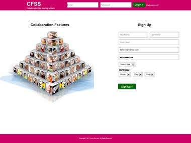 Collaboration System (CFSS)