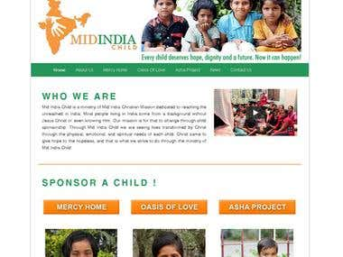 Wordpress Sponsor a Child