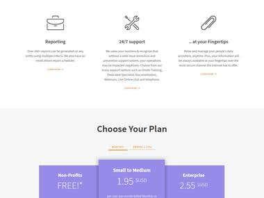 Intelliwage Website