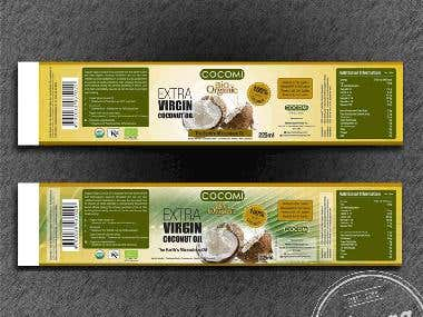 Packaging Label Design