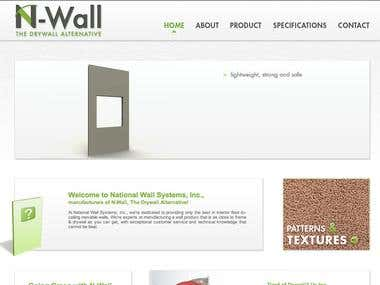N-Wall drywall alternative website