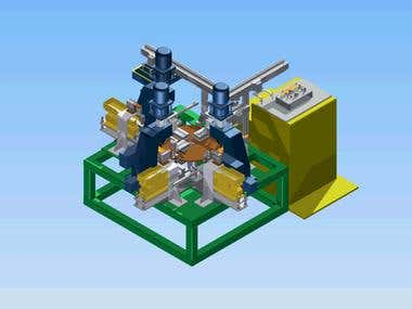 Designing and simulation automatic system