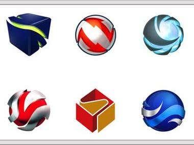demo project of logo desine step 1