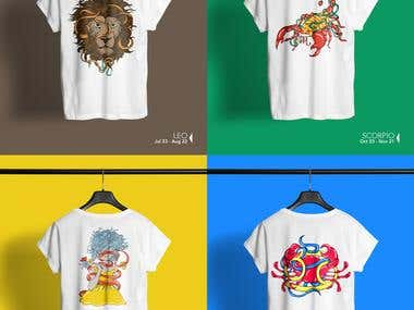 T-shirts designs 2016