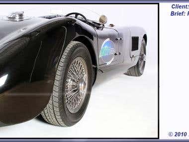Jaguar C Type sports car