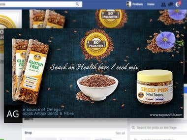 FACEBOOK COVER PAGE DESIGN