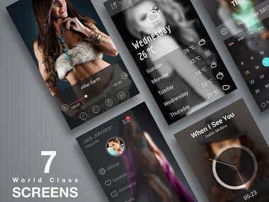 Smartphone Apps design
