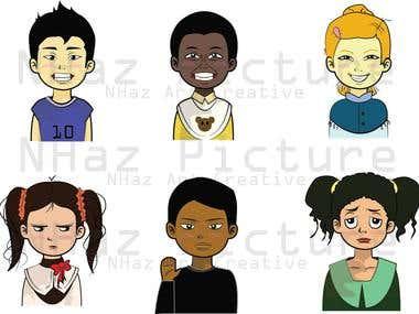 Character Design ( Children )
