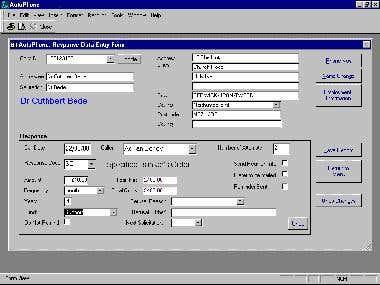 Programmer & Data Entry