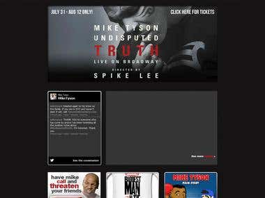 Mike Tyson Official Website