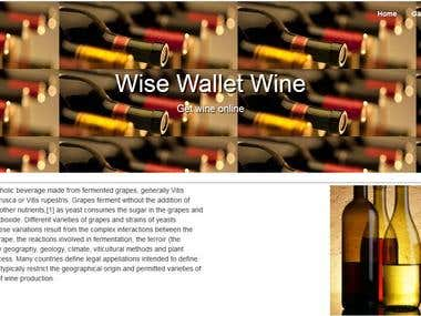 Wise Wallet Wine