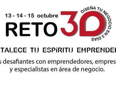 Logo para Reto tres Días de RetoMantra 5ta Cohorte Artemisa.