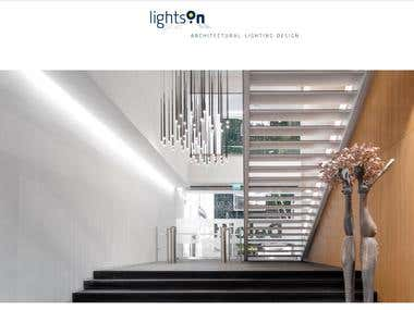 Lightson Website