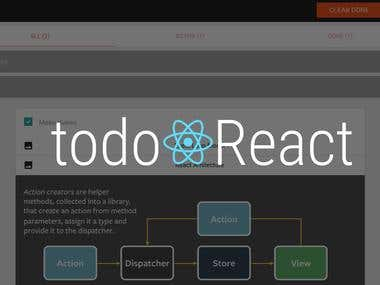 TodoReact Application
