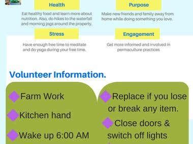 Permatree Volunteering Infographic