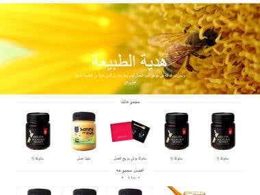 almalaky.ae (Arabic Website Right to left )
