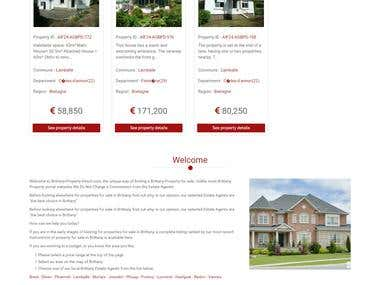 Real Estate Website | http://france-property-direct.com/dev/