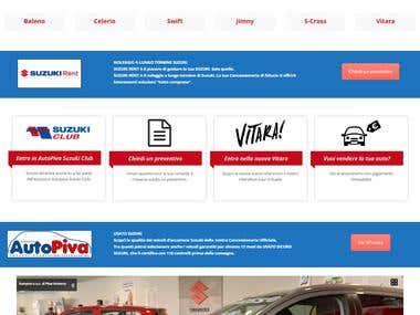 Create website for car dealership