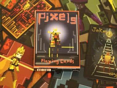 PIXELS Card Project