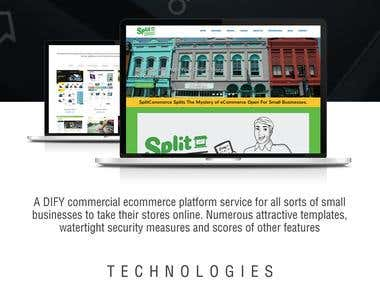 SPLIT COMMERCE ( Ecommerce NOW )