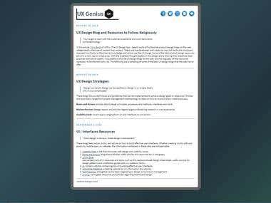 UI Blog
